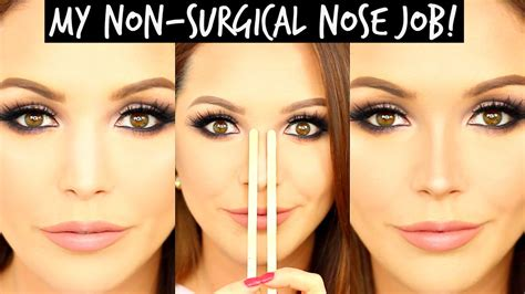 MY NON-SURGICAL NOSE JOB & HACKS!!! | LAURA SOMMERVILLE