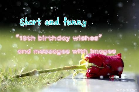"""Short and funny 23 """"18th birthday wishes"""" and messages"""