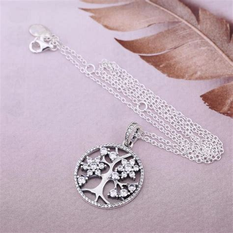 Fit Pandora Necklace Authentic 925 Sterling Silver Family
