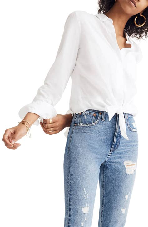 Nordstrom Shoppers Gave This Versatile White Shirt a