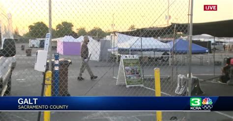 COVID Vaccine Clinic At Dick's Sporting Goods Park Put On