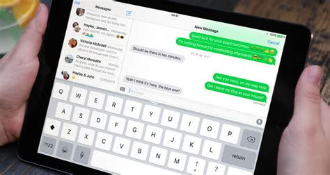 iOS 9: How to send SMS text messages from a non-cellular