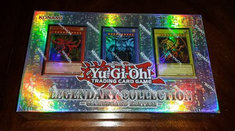 Opening the Yu-Gi-Oh! Legendary Collection God Cards