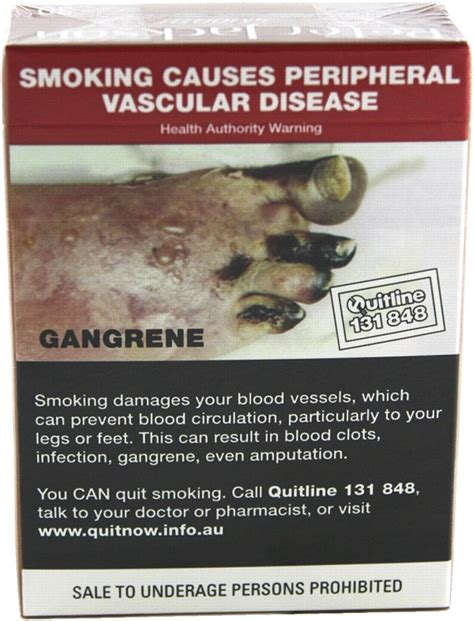 Health warning messages on tobacco products: a review