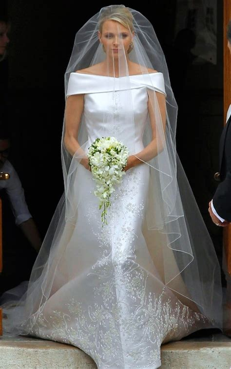 Charlene of Monaco wedding   On what would have been