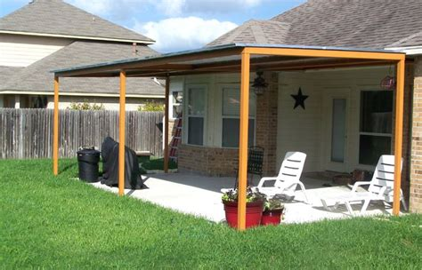 Patio Covered Extended Ideas Roof Overhang Image Of Extend