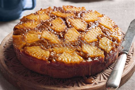 Pineapple and ginger upside-down cake - Recipes