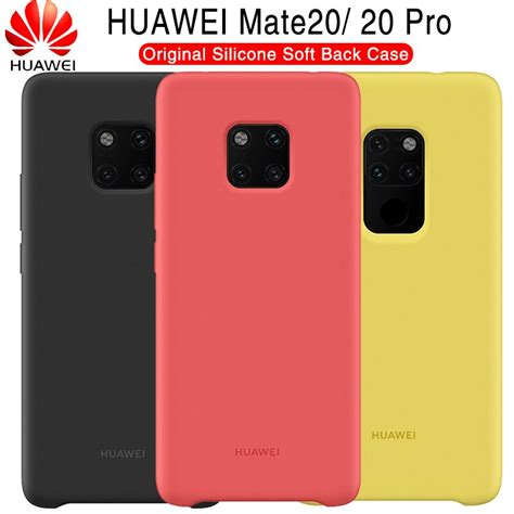 Huawei Mate 20 Case Original 100% Offical Silicone Soft