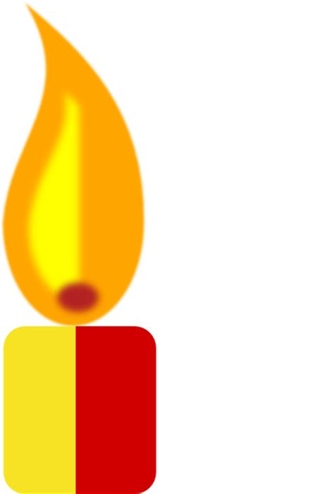 Yellow Candle Clip Art at Clker