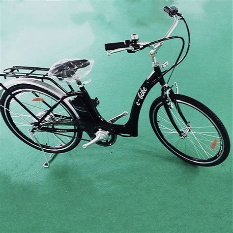 TDL6166 Modern City Electric Bicycle Review   Road and