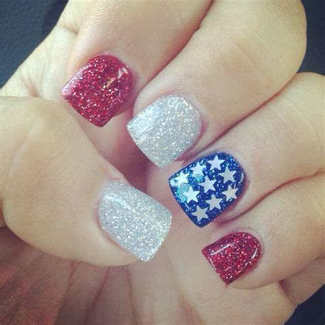 4th Of July Nail Art - All For Fashions - fashion, beauty
