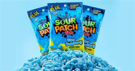 Sour Patch Kids is coming out with all-blue raspberry bags