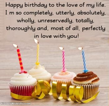 Romantic Happy Birthday Wishes For Husband & Birthday Images