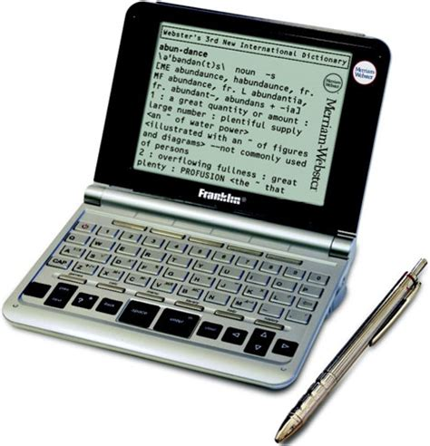 Only Unabridged Electronic Dictionary Is Very Nolij-able