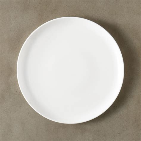 Contact White Dinner Plate + Reviews | CB2