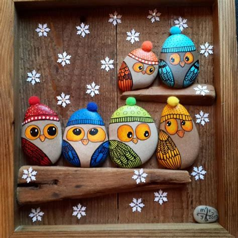 Over 40 of the BEST Rock Painting Ideas - Kitchen Fun With