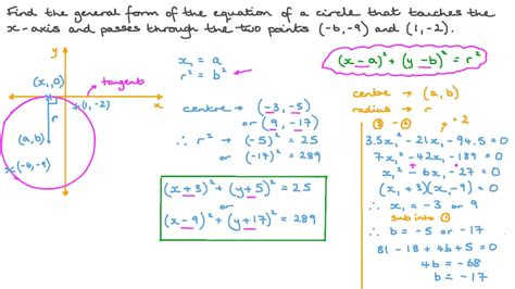 How To Solve General Form Equation Of A Circle - Tessshebaylo