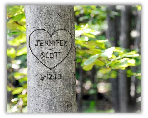 Carved Tree Wall Art | Personalize With Your Names