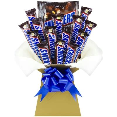 Snickers Chocolate Bouquet | Flowers Delivery 4 U