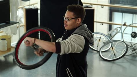 MIT Physics: Spinning Bike Wheel and Conservation of