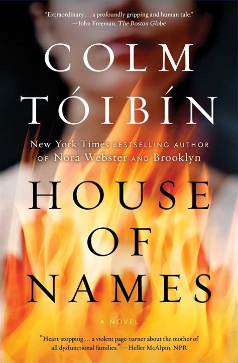 House of Names | Book by Colm Toibin | Official Publisher