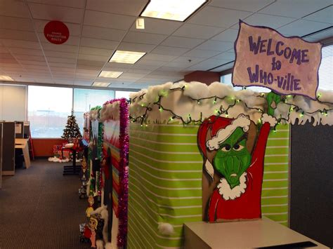 Who-Ville | Office christmas decorations, Whoville