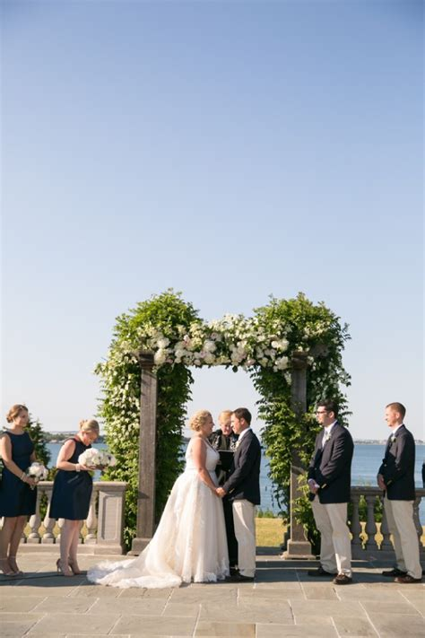 Holly and Mike's Castle Hill Inn Wedding - The Newport Bride