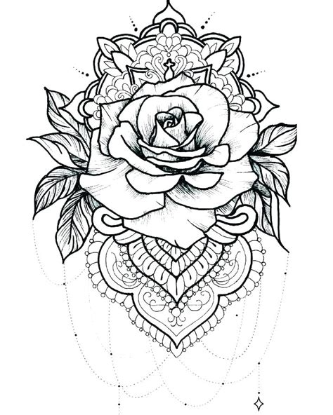 Tattoo Coloring Pages for Adults - Best Coloring Pages For
