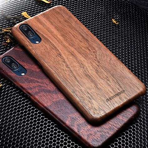 Showkoo Natural Wooden Phone Shell For Huawei P20/P20 Pro
